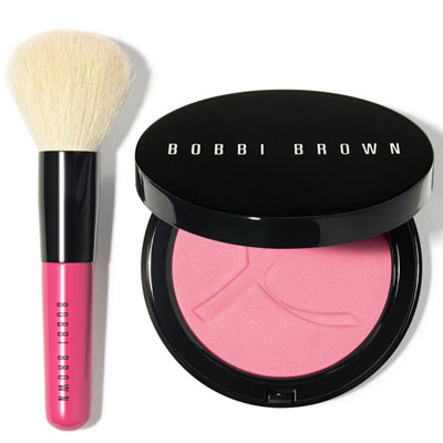Pink Peony Illuminating Bronzer and Mini Face Blender Brush, £35 - £5 donation