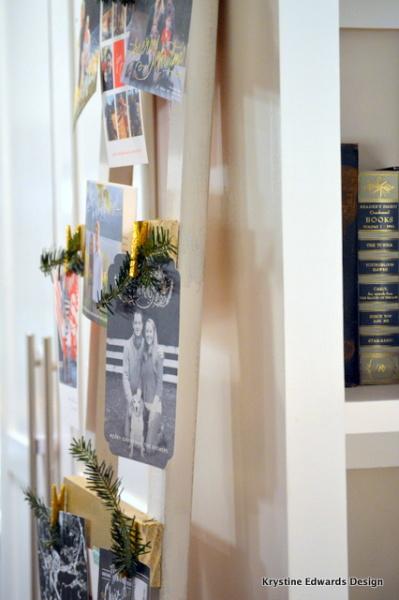 DIY Christmas Card Display Holder Krystine Edwards Real