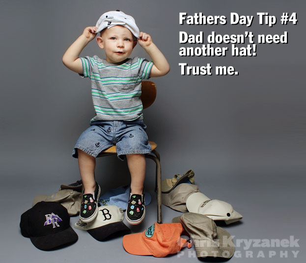 Fathers Day tip no more baseball hats photo