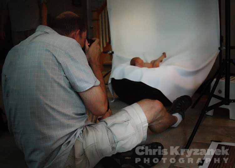 newborn session photography Chris Kryzanek
