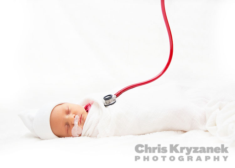 Chris Kryzanek Photography NICU newborn session