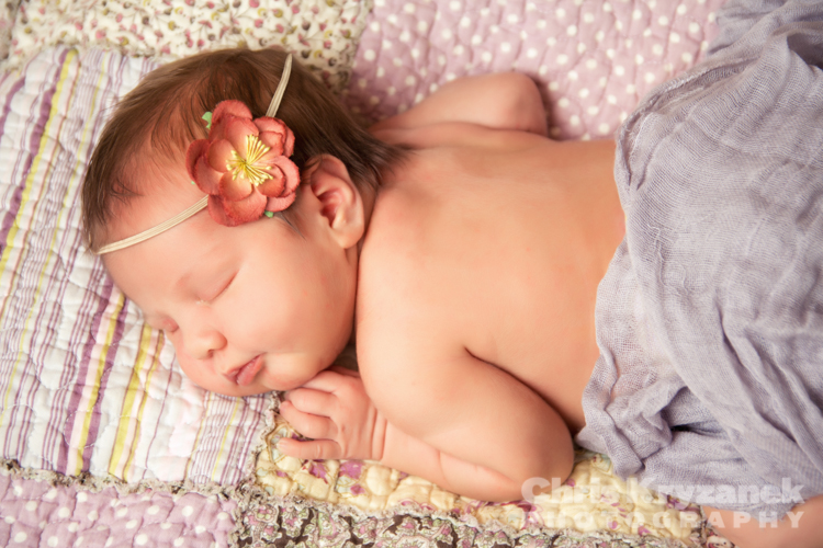 Chris Kryzanek Photography - newborn baby girl