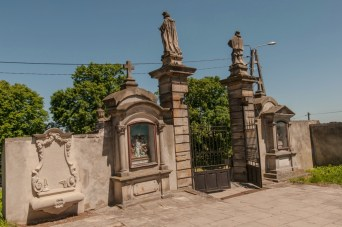 Brama do Kościoła pw. św. Władysława w Kunowie (fot. arch. Gminy Kunów)