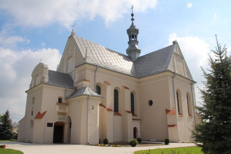 Kościół pw. Wniebowzięcia Najświętszej Maryi Panny w Solcu nad Wisłą (fot. K. Furmanek)