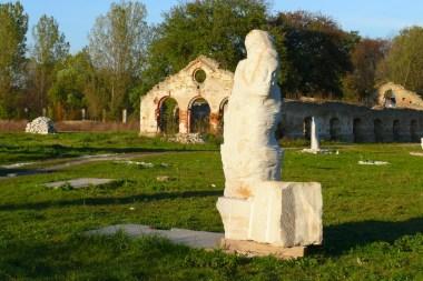 Ruiny walcowni w Nietulisku Dużym (fot. arch. Gminy Kunów)