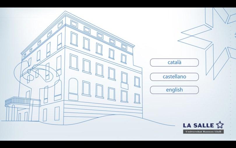 LaSalle: Portada de la presentación interactiva