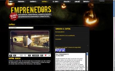 Emprenedors TV3: Capitols