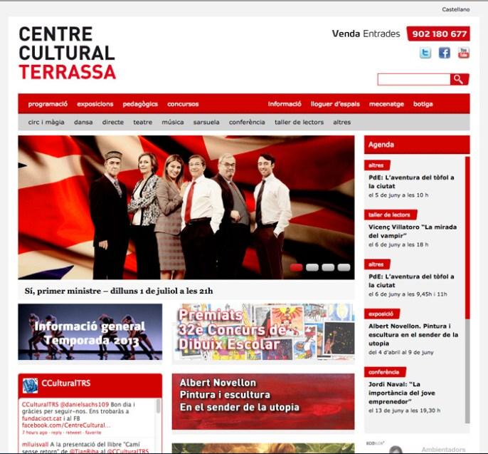 Centre Cultural - Home