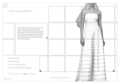 Carolina Herrera Web - Brides