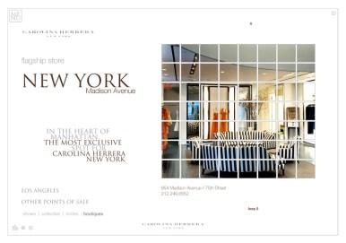 Carolina Herrera Web - Boutiques