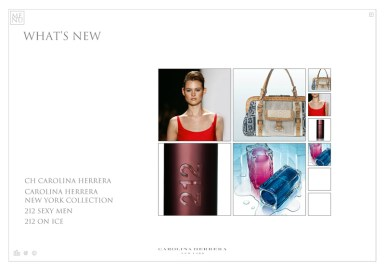 Carolina Herrera Web - Whatsnew