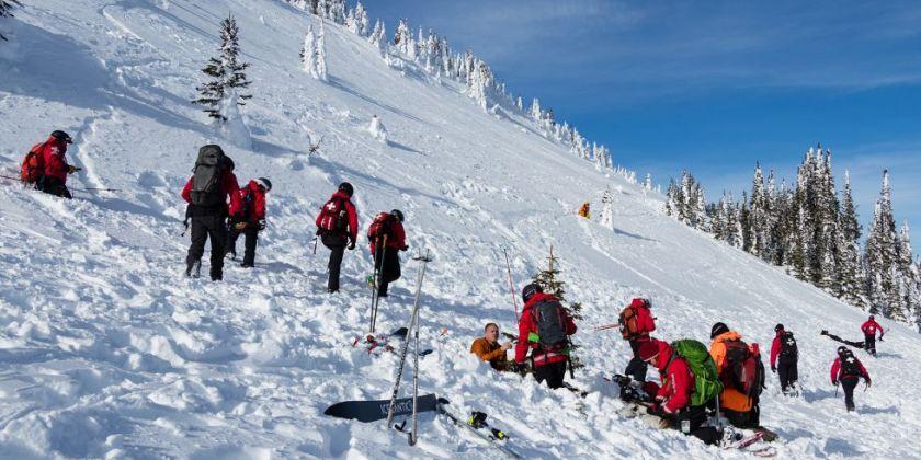 Sun Peaks hosts avalanche simulation