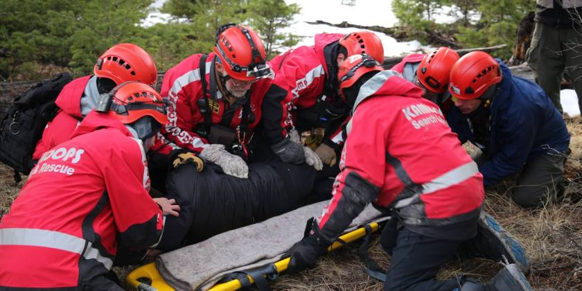 Search and rescue officials concerned increased calls could deplete protective equipment supply