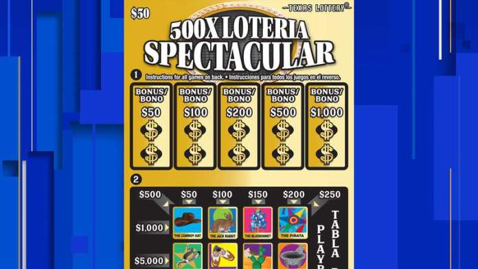 San Antonio resident wins $3 million in lottery scratch ticket game