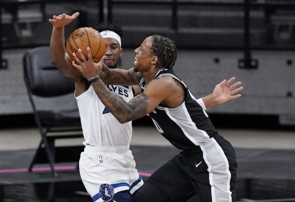 Αποτέλεσμα εικόνας για San Antonio Spurs - Minnesota Timberwolves 111-108