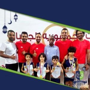 Read more about the article حصول لاعبي الجمباز علي 3 ميداليات فضية