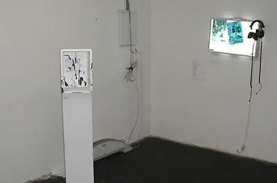 """I´m glad it..."", Wolfgang Kschwendt, 2007, Styropor, Marker, View 4"