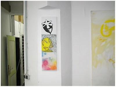 alles was da ist gehört dazu (HELP ME THINK), 15. 12. 2007, Wolfgang Kschwendt, exhibitionview 9