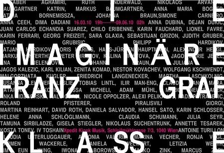 Die Imaginäre Franz Graf Klasse - Flyer