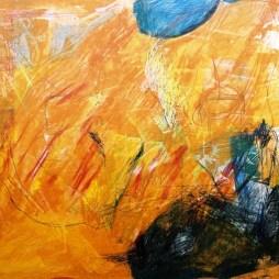 jolly orange - 112 x 81 cm
