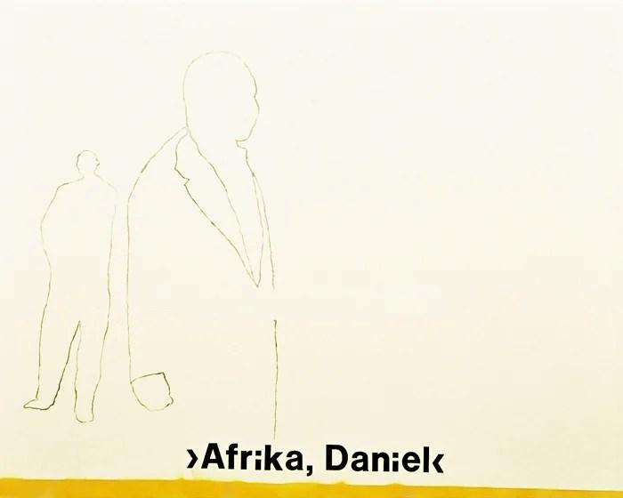 """""""Afrika, Daniel"""" II - 190 x 150 cm"""