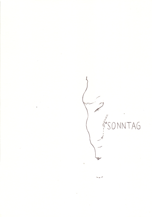 sonntag - DIN A4