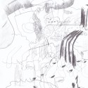 "Wolfgang Kschwendt - ""Der beginnende Wirbel"" - Pencil on cardboard, DIN A4, 2015"