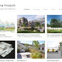 Screenshot Website www.verenafrosch.at