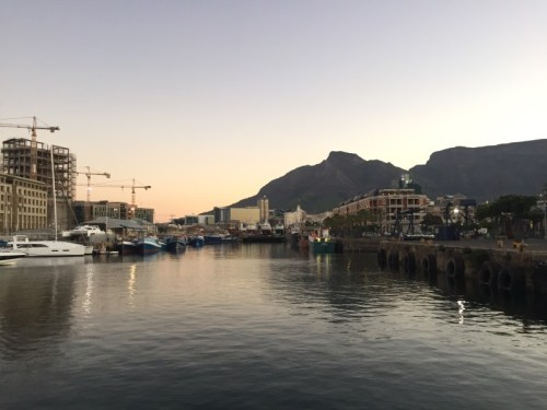 Another view on the waterfront in Cape Town.