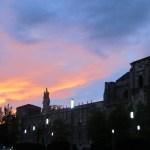 Sunset over The Parador