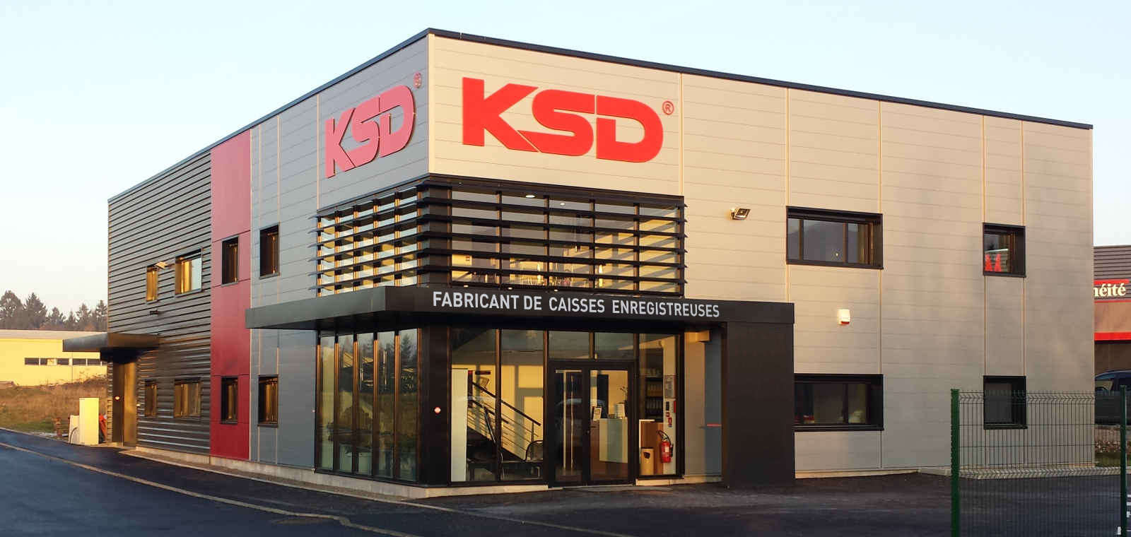 Bâtiment KSD Perrignier