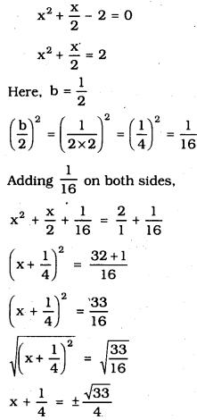 KSEEB SSLC Class 10 Maths Solutions Chapter 10 Quadratic Equations Ex 10.3 4