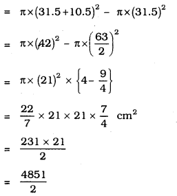 KSEEB SSLC Class 10 Maths Solutions Chapter 5 Areas Related to Circles Ex 5.1 6