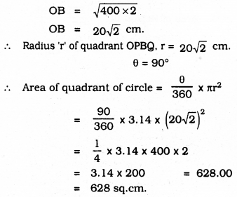 KSEEB SSLC Class 10 Maths Solutions Chapter 5 Areas Related to Circles Ex 5.3 33