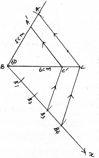 KSEEB SSLC Class 10 Maths Solutions Chapter 6 Constructions Ex 6.1 5