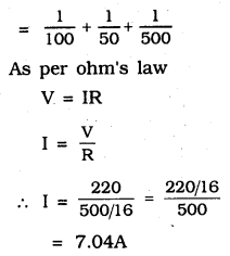 KSEEB SSLC Class 10 Science Solutions Chapter 12 Electricity 110 Q 2.1