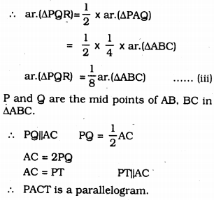 KSSEB Solutions for Class 9 Maths Chapter 11 Areas of Parallelograms and Triangles Ex 11.4 11