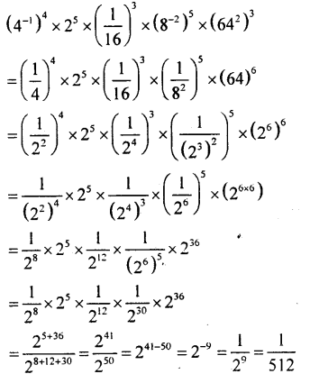 KSEEB Solutions for Class 8 Maths Chapter 10 Exponents Ex. 10.7 4