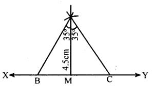 KSEEB Solutions for Class 8 Maths Chapter 12 Construction of Triangles Ex. 12.6 1