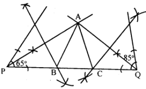 KSEEB Solutions for Class 8 Maths Chapter 12 Construction of Triangles Ex. 12.8 3