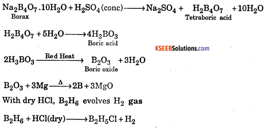 1st PUC Chemistry Question Bank Chapter 11 The P-Block Elements - 24
