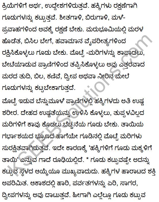 Hakkigudugala Nigudha Jagattu Summary in Kannada 5