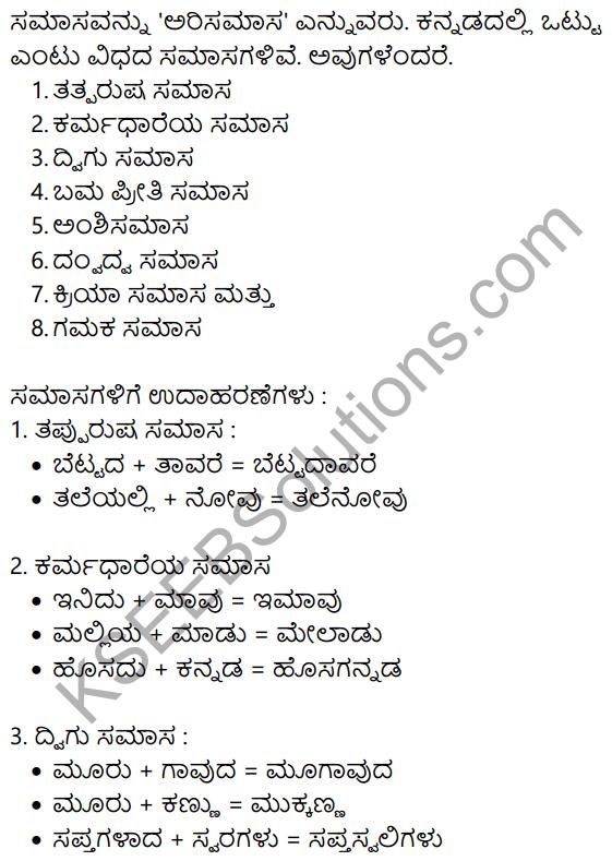 Siri Kannada Text Book Class 10 Solutions Gadya Chapter 5 Edege Bidda Akshara 8