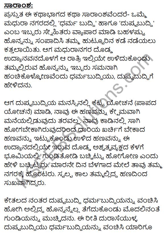Vruksha Sakshi Summary in Kannada 1