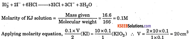 1st PUC Chemistry Question Bank Chapter 8 Redox Reactions - 42