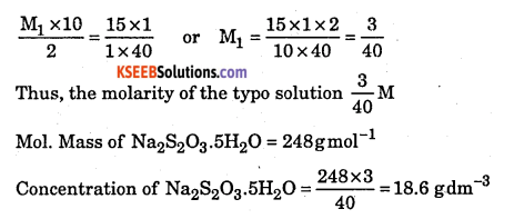 1st PUC Chemistry Question Bank Chapter 8 Redox Reactions - 49