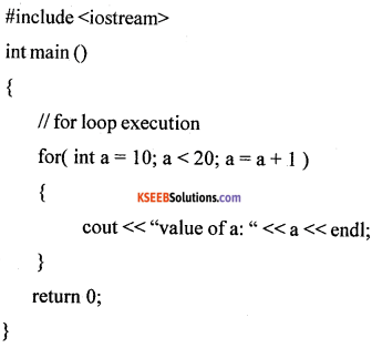 1st PUC Computer Science Model Question Paper 1 with Answers part B img 13