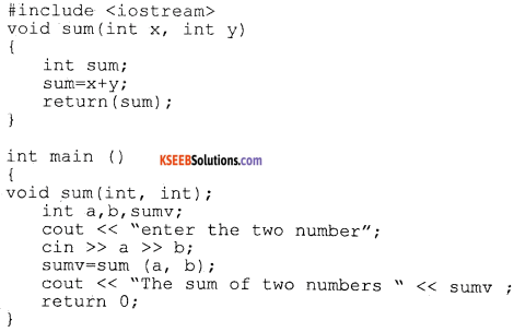 1st PUC Computer Science Previous Year Question Paper March 2015 (North) part D img 11