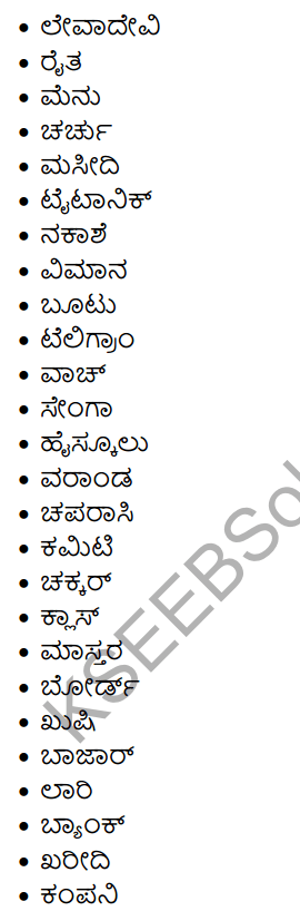 1st PUC Kannada Workbook Answers Nanartha Padagalu 5