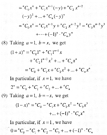 1st PUC Maths Question Bank Chapter 8 Binomial Theorem 3